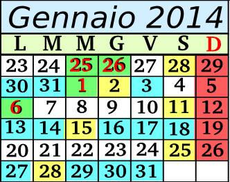 Gennaio Cadenza 10 5+2