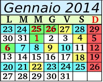 Gennaio Cadenza 11 5+2