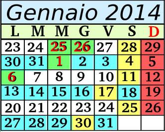 Gennaio Cadenza 2 5+2