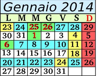 Gennaio Cadenza 3 5+2