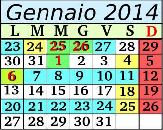 Gennaio Cadenza 5 5+2