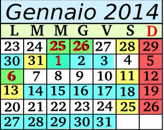 Gennaio Cadenza 6 5+2