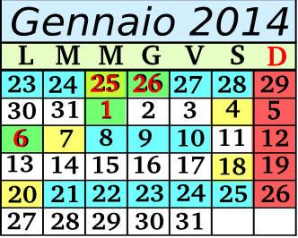 Gennaio Cadenza 7 5+2