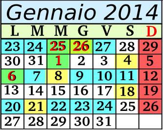 Gennaio Cadenza 9 5+2